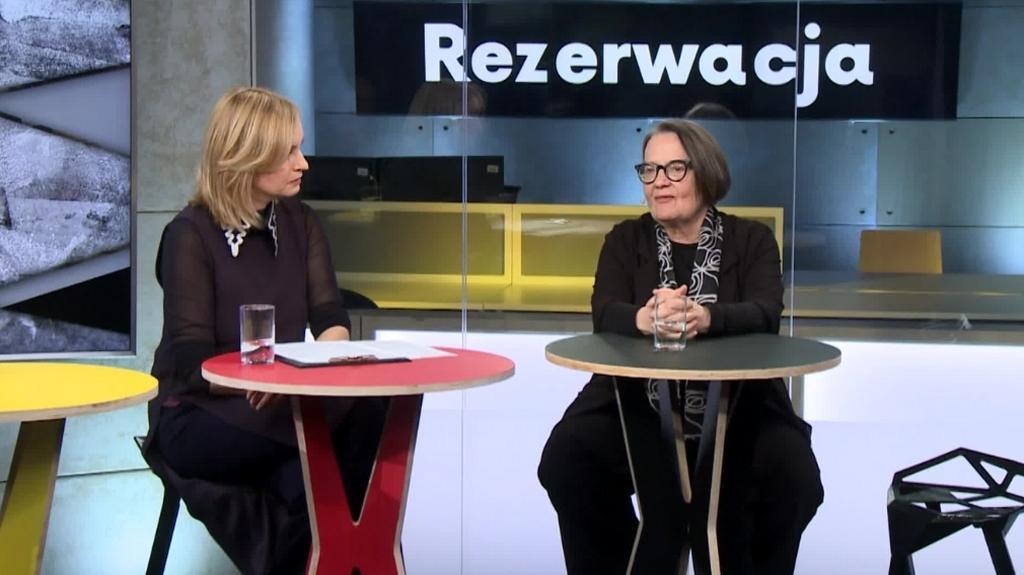 Rezerwacja: Agnieszka Holland, Olga Tokarczuk, Agnieszka Mandat, Helena Norowicz (17.02.2017)