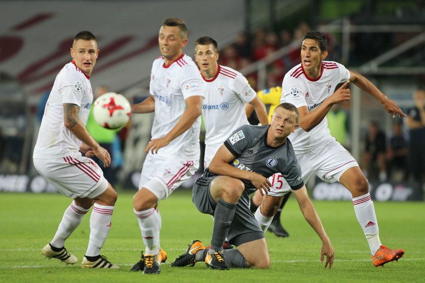Pilka nozna. Ekstraklasa. Gornik Zabrze - Legia Warszawa. 15.07.2017