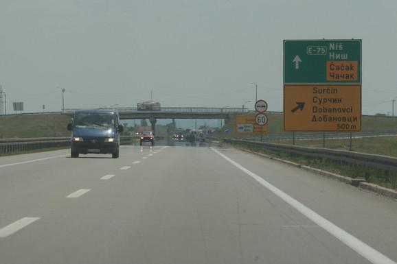 U Surčinu će se do kraja godine ukrstiti tri auto-puta