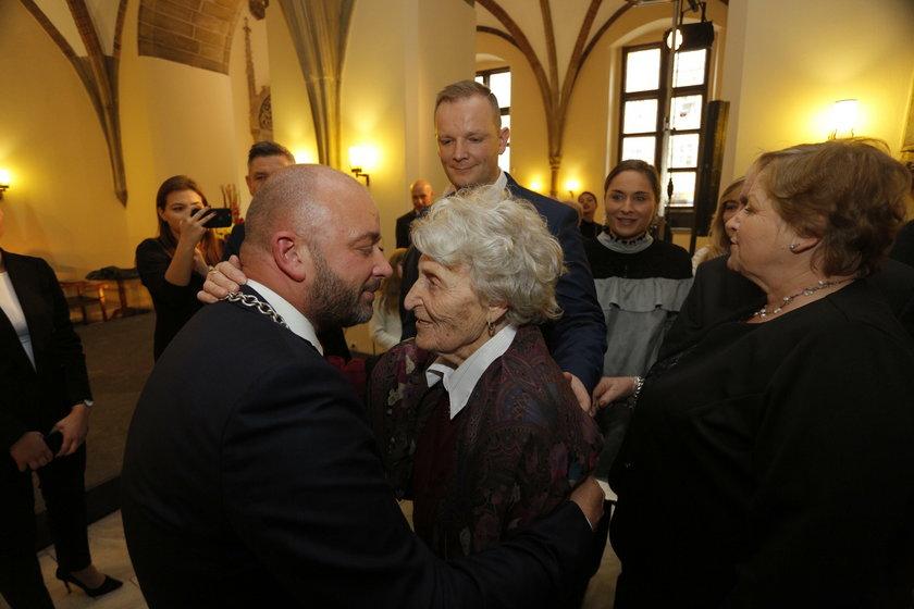 Prezydent i ukochana babcia