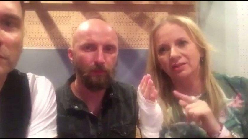 Pan Ząbek i Marzena Rogalska