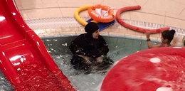 Mieszkańcy Koszalina w szoku: na basenie muzułmanka w ubraniu