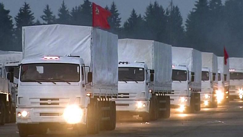 Konwój 280 samochodów ma przejechać pod egidą Czerwonego Krzyża i w towarzystwie przedstawicieli Organizacji Bezpieczeństwa i Współpracy w Europie - tej samej, której wysłannikom utrudniano pracę na miejscu katastrofy malezyjskiego boeinga 777.