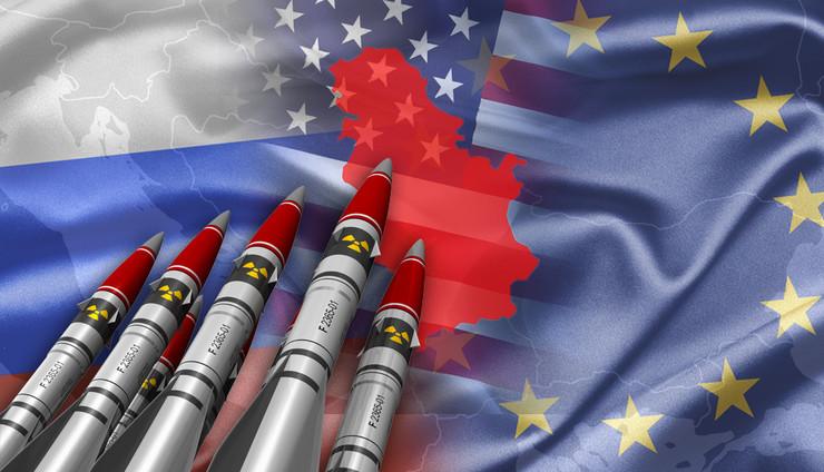 Srbija, Zapadni Balkan, Hladni rat, Rusija, SAD, kombo