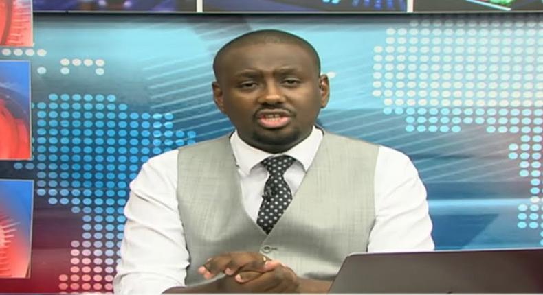 NTV news anchor Dann Mwangi