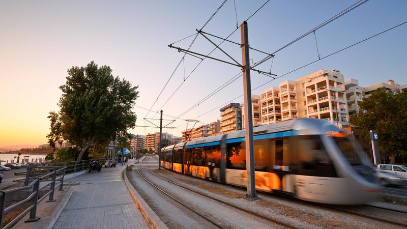 Tramwaj, Ateny
