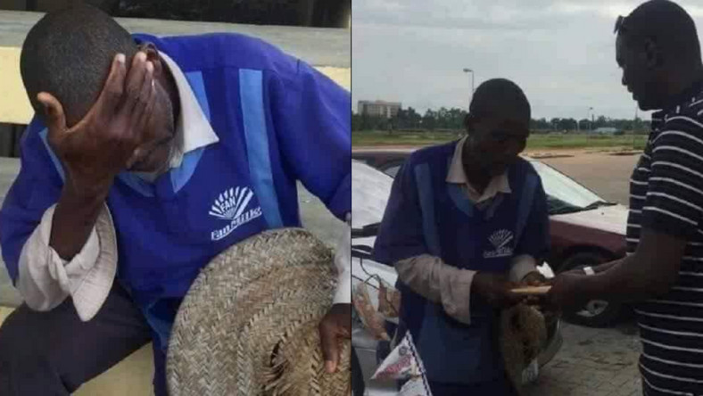 Grateful man gifts GHc10k cash to yoghurt seller who gave him free yoghurt 30 years ago
