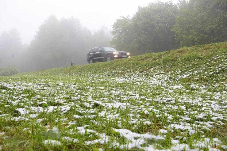 Sneg na Fruškoj gori