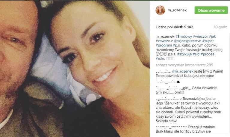 Małgorzata Rozenek-Majdan Instagram