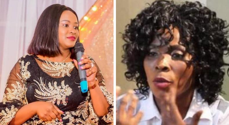 Kanze Dena's confession after meeting Rose Muhando at Rev. Natasha's Church