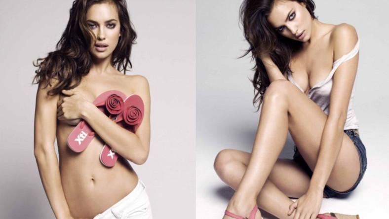 Irina Shayk w kampanii reklamowej obuwia hiszpańskiej marki XTI