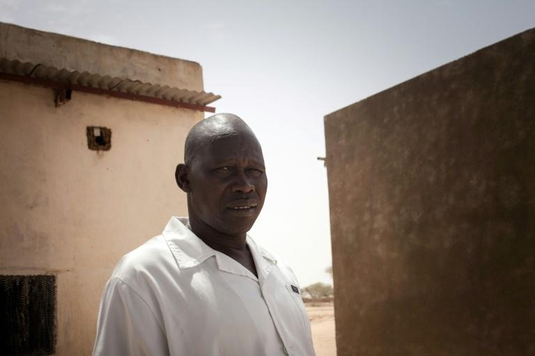 Long day: Dinar Tchere, head of the health center of Hilouta