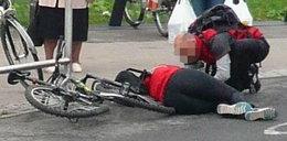 Potrącenie rowerzystki na Śmigłego–Rydza