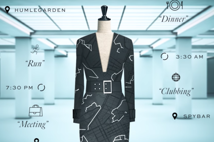 coded culture, data dress, h&M