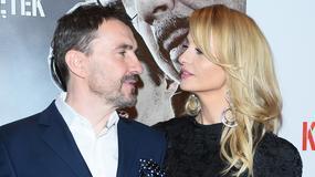 Aneta Kręglicka na premierze filmu autorstwa jej męża