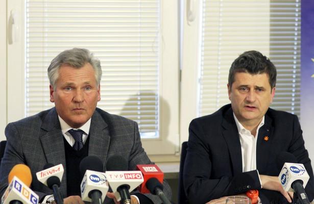 Janusz Palikot i Aleksander Kwaśniewski