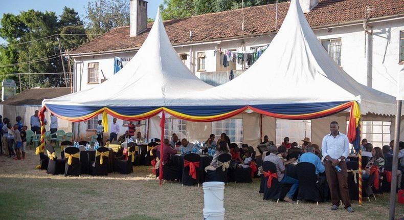 Kileleshwa Police Station party
