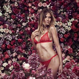Heidi Klum w kampanii bielizny. 44-letnia modelka ma boskie ciało!