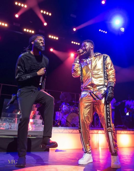 Kizz Daniel and Wretch 32 performing 'Bad' at 'Indigo at the O2.' (Within Nigeria)