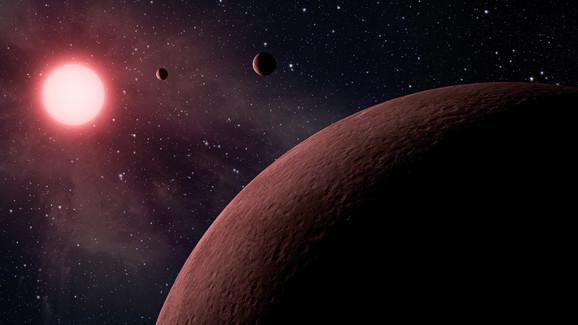 Pusti snovi - umetnički prikaz egzoplaneta