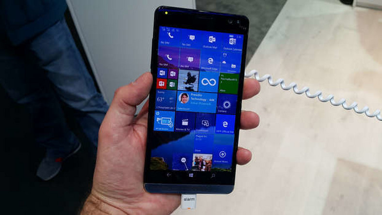HP Elite X3: najmocniejszy smartfon z Windows 10 Mobile (MWC 2016)