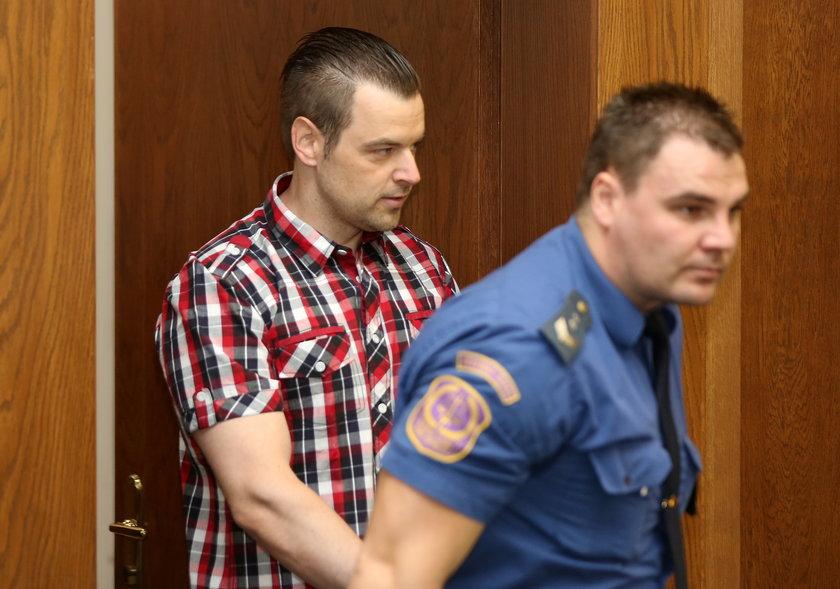 Petr Kramny w trakcie procesu