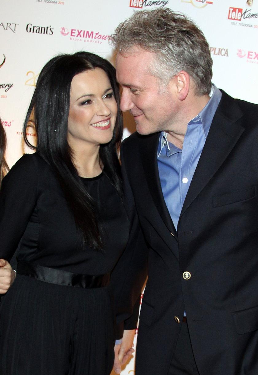 Jarosław Kret i Beata Tadla