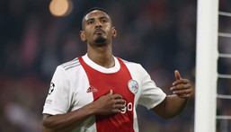 Sebastien Haller scored just 14 goals in 54 appearances across all competitions in two seasons for West Ham Creator: KENZO TRIBOUILLARD
