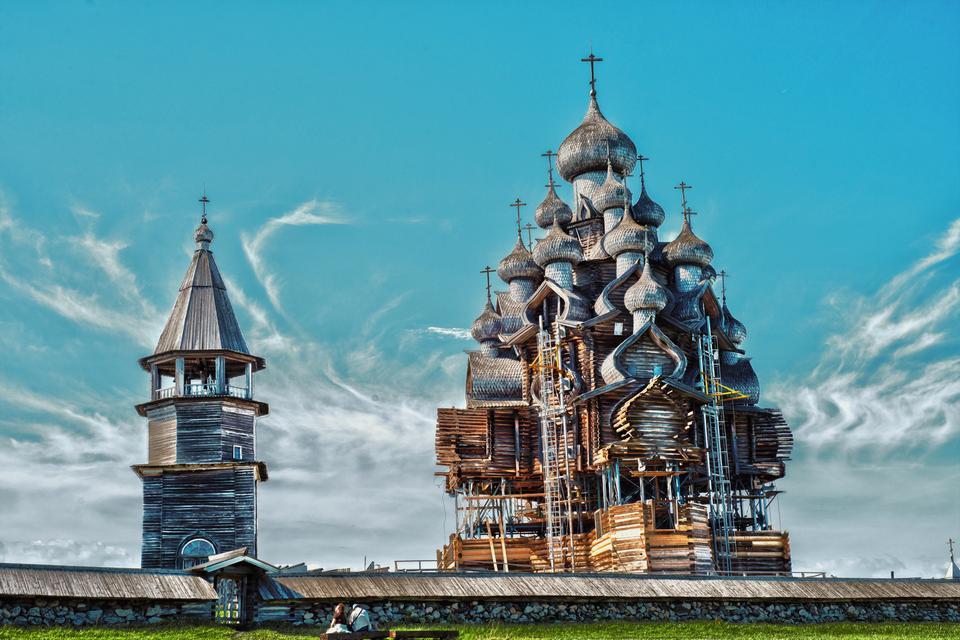 Kiży, Rosja