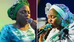 Tope Alabi and Adeyinka Alaseyori have now made peace with each other after the controversy that came with a criticism of the latter's song  (Instagram)
