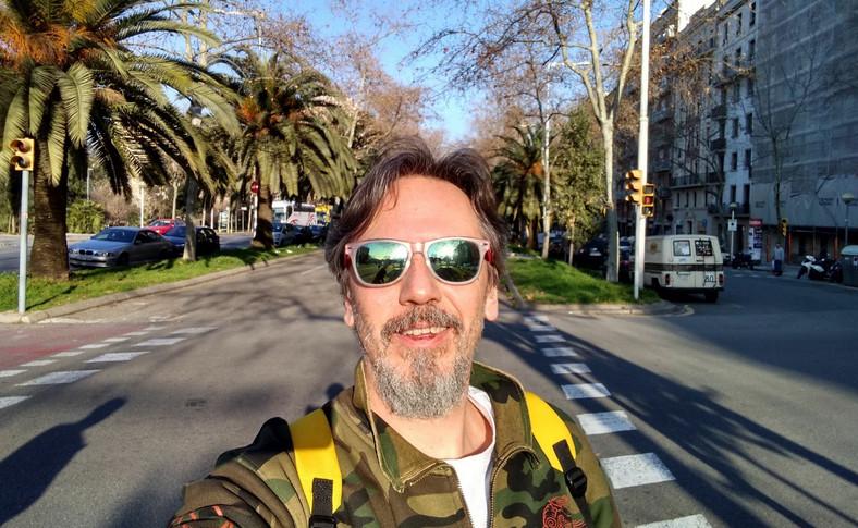 Zdjęcie wykonane telefonem Motorola Moto G7 - selfie