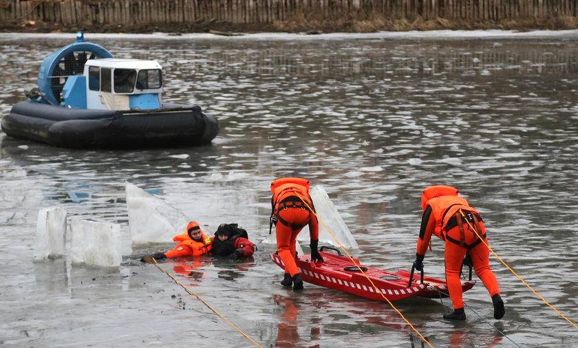Tak wygląda akcja ratunkowa na wodzie
