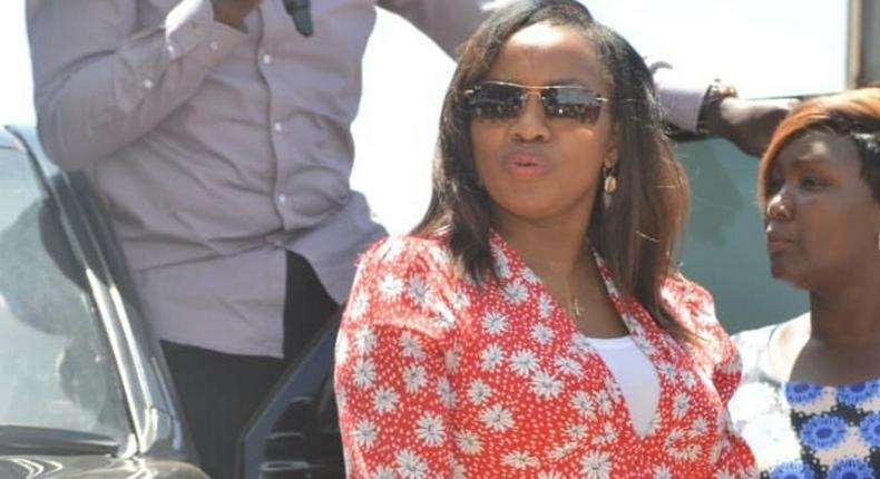 "Nakuru Senator Susan Kihika celebrates new role as DP Ruto's ""bodyguard"