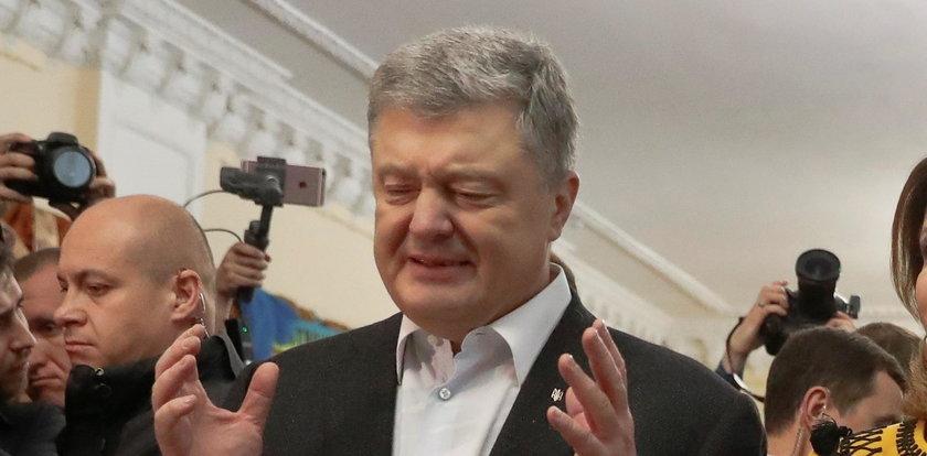 Poroszenko skomentował swoją przegraną. Ostrzega przed Rosją