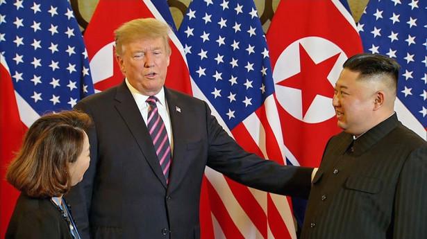 Trump i Kim na szczycie w Hanoi