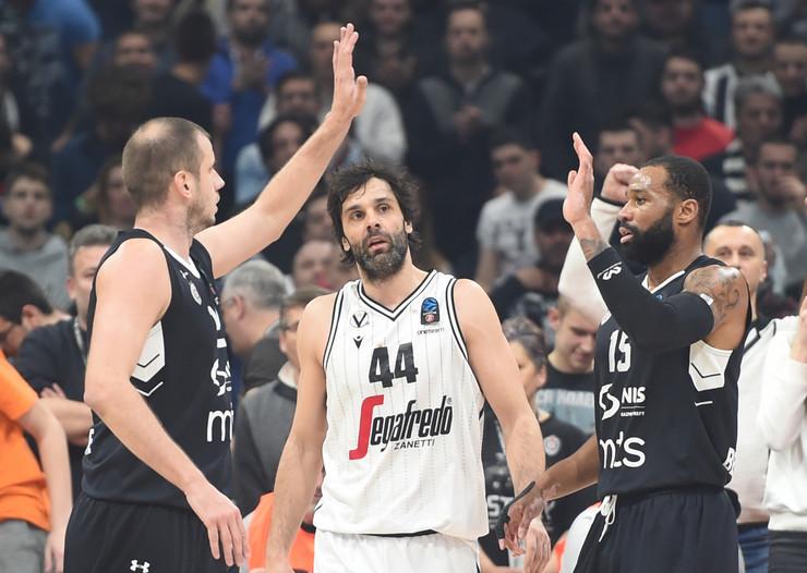 KK Partizan, KK Virtus Bolonja