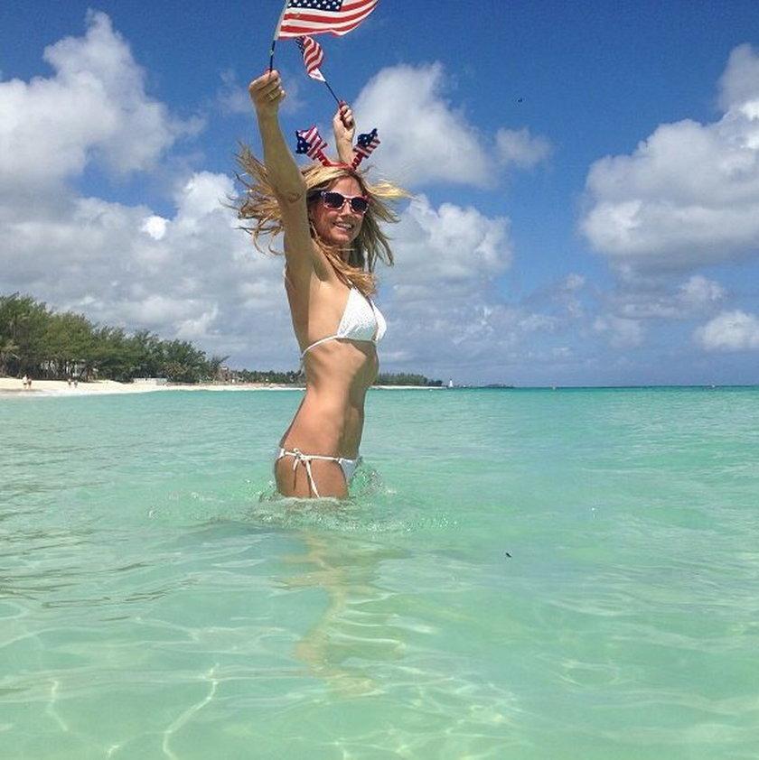 Heidi Klum w wodzie