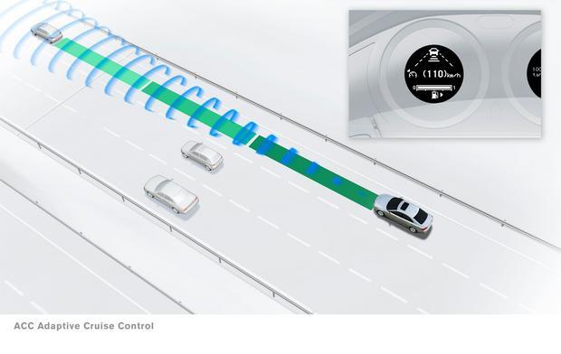 System obserwacji otoczenia przed pojazdem