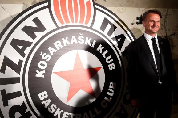 """""""ČESTITAM I ZVEZDI!"""" Posle osvajanja Kupa Koraća, OVAKO se oglasio predsednik KK Partizan Ostoja Mijailović"""
