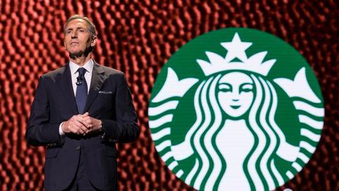 Założyciel i do niedawna CEO Starbucksa Howard Schultz