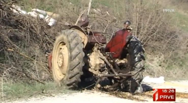 traktor pregazio dečaka (11) Kuršumlija, Dedinac