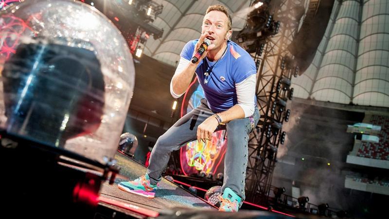 Coldplay w Polsce: Warszawa na dwie godziny stała się stolicą muzycznego świata