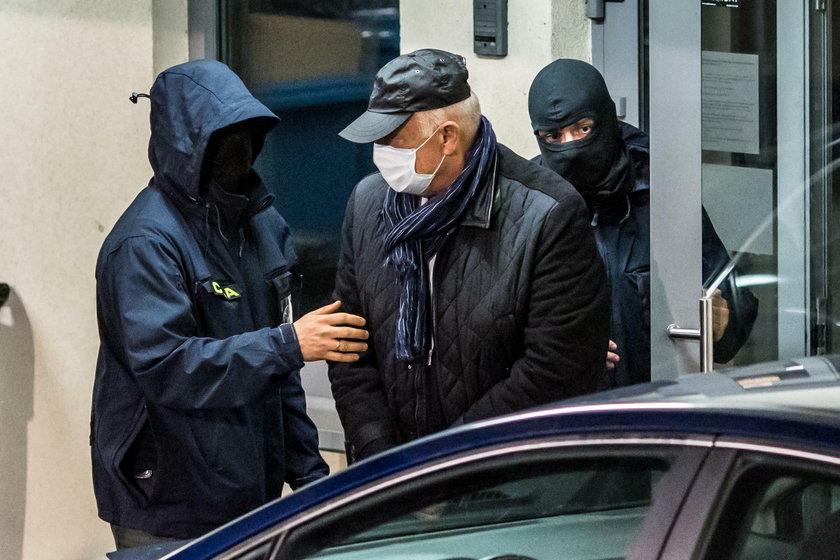 Ryszard Krauze przewieziony do prokuratury