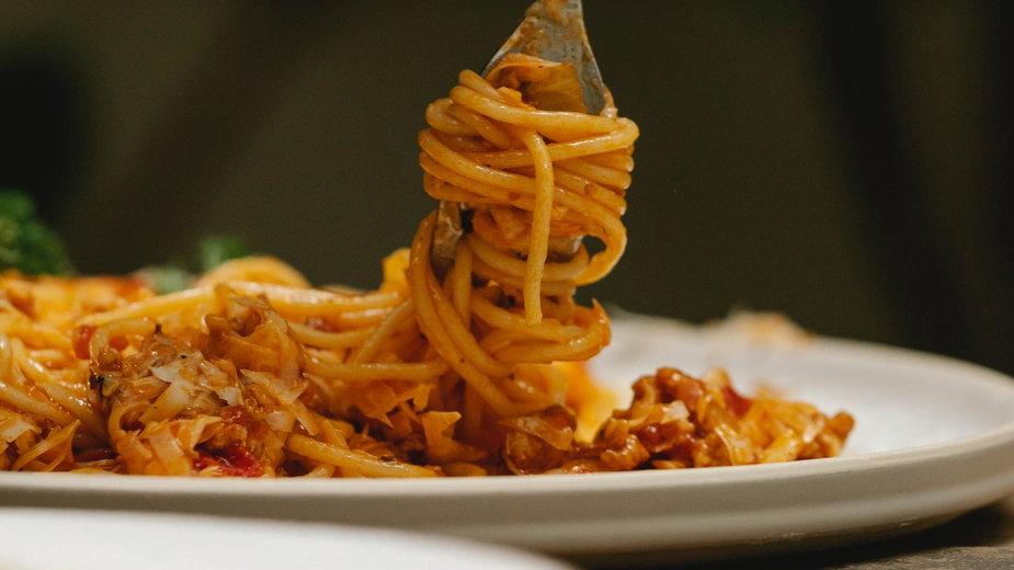 Szybki obiad - spaghetti z piekarnika!