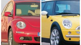 Porównanie: Volkswagen New Beetle vs. Mini - w modnym świecie retro