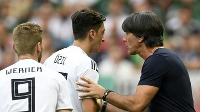 Loew seeks to clear air with Ozil over 2018 Germany exit