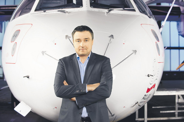Zdaniem Mariusza Dąbrowskiego przyszłością są loty zagraniczne z portów regionalnych.