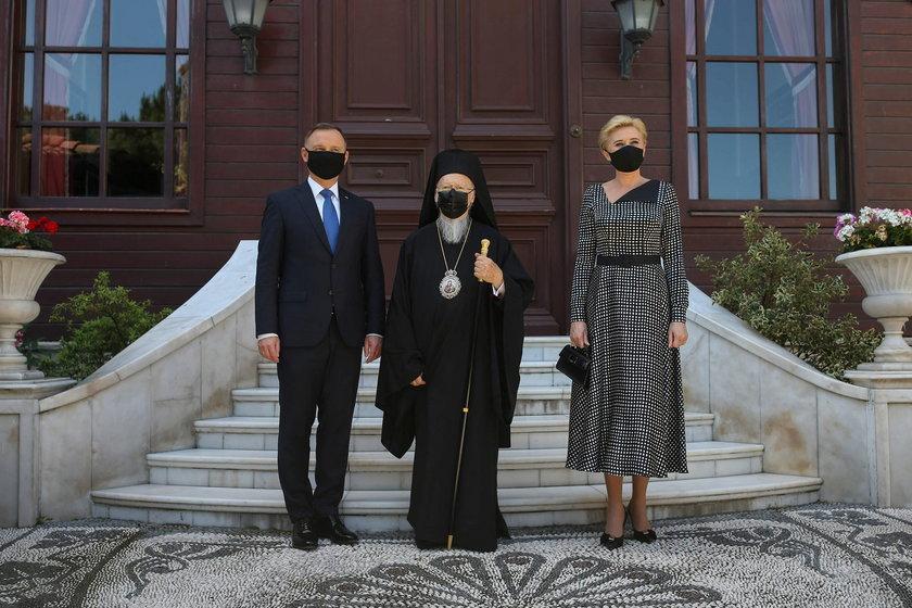 Prezydent i Pierwsza Dama w Turcji