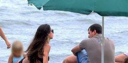 Dubieniecki z Kaczyńską na plaży. Walczy o nią?