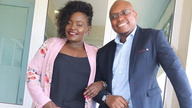 Presenter Dee and Kaka Zema of Milele FM